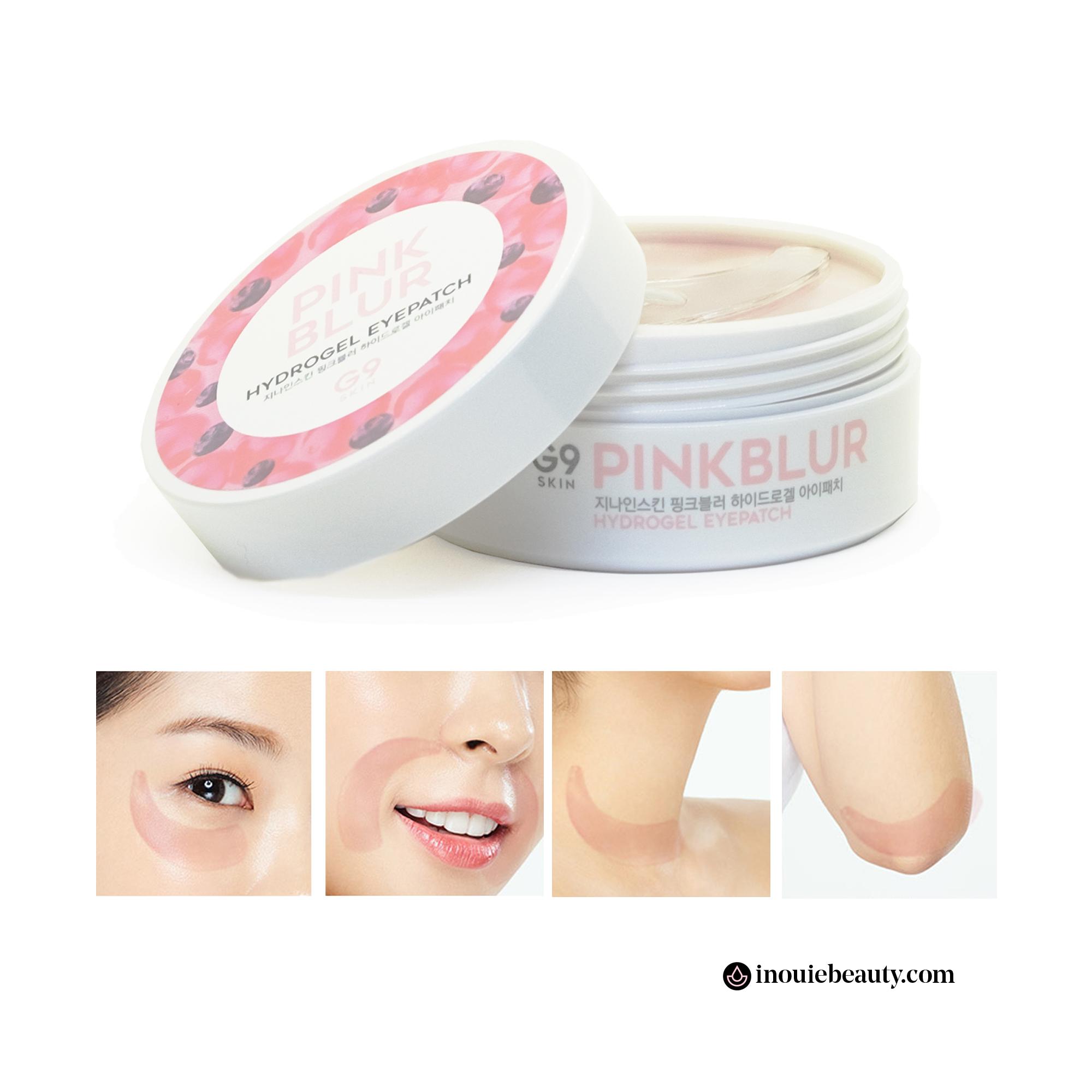 G9SKIN Pink Blur Hydrogel Eye Patches