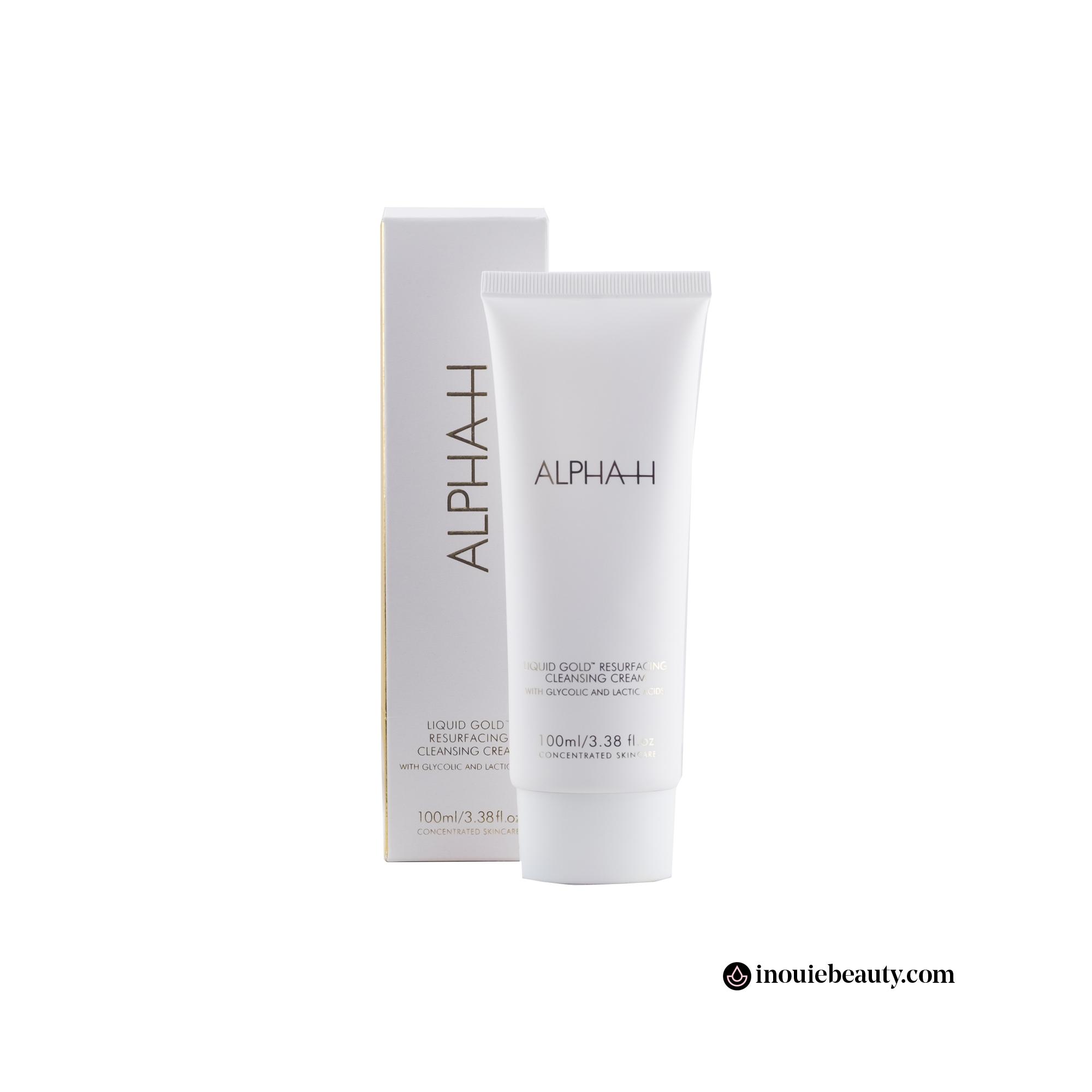 Alpha-H Liquid Gold Resurfacing Cleansing Cream
