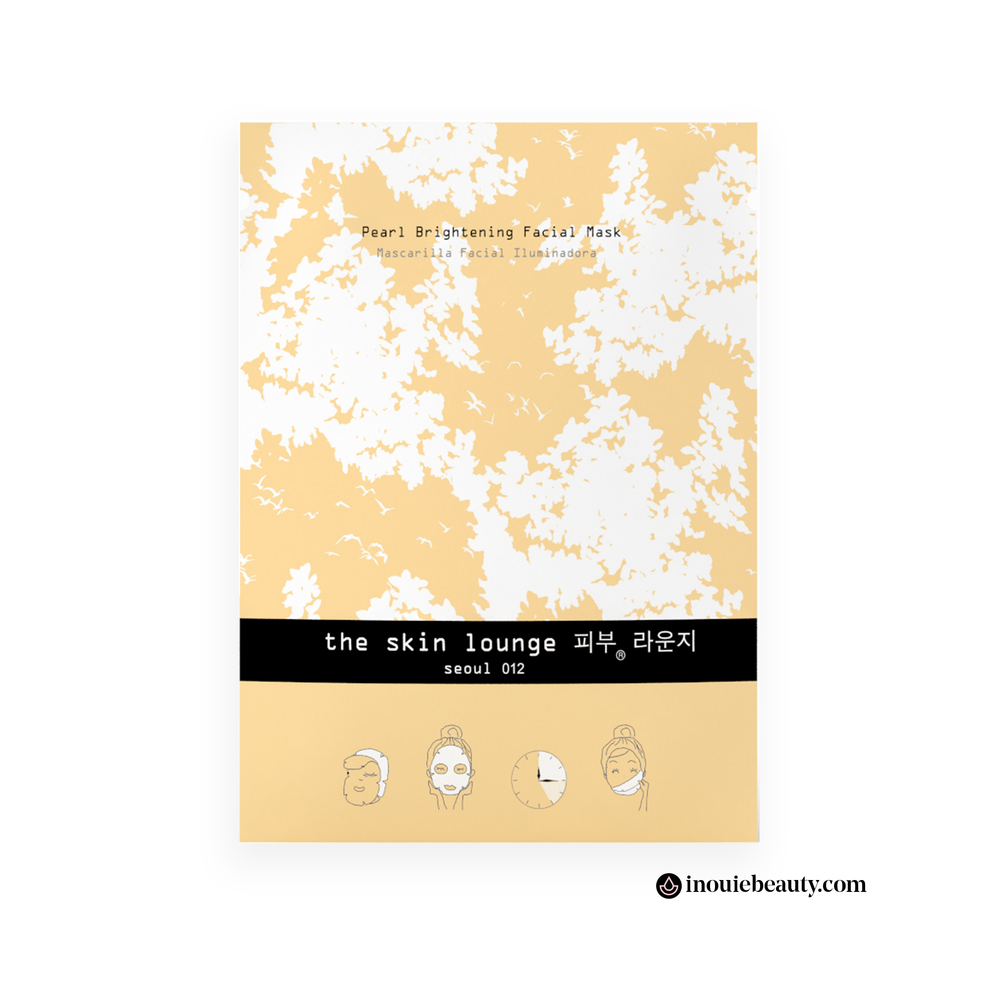 The Skin Lounge Pearl Brightening Mask