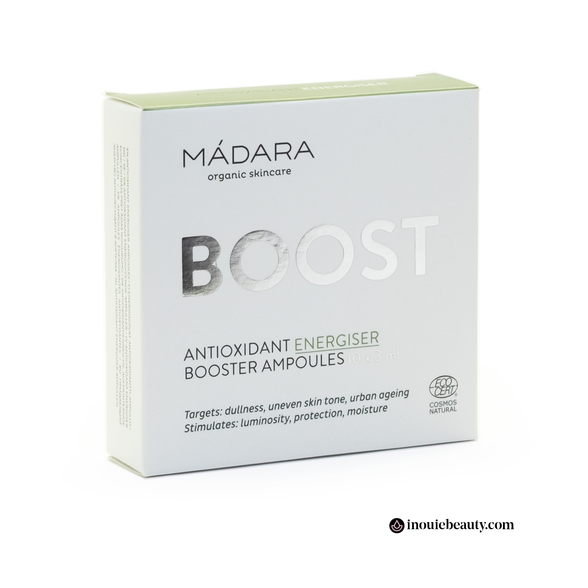 Mádara Antioxidant Energiser Booster Ampoules