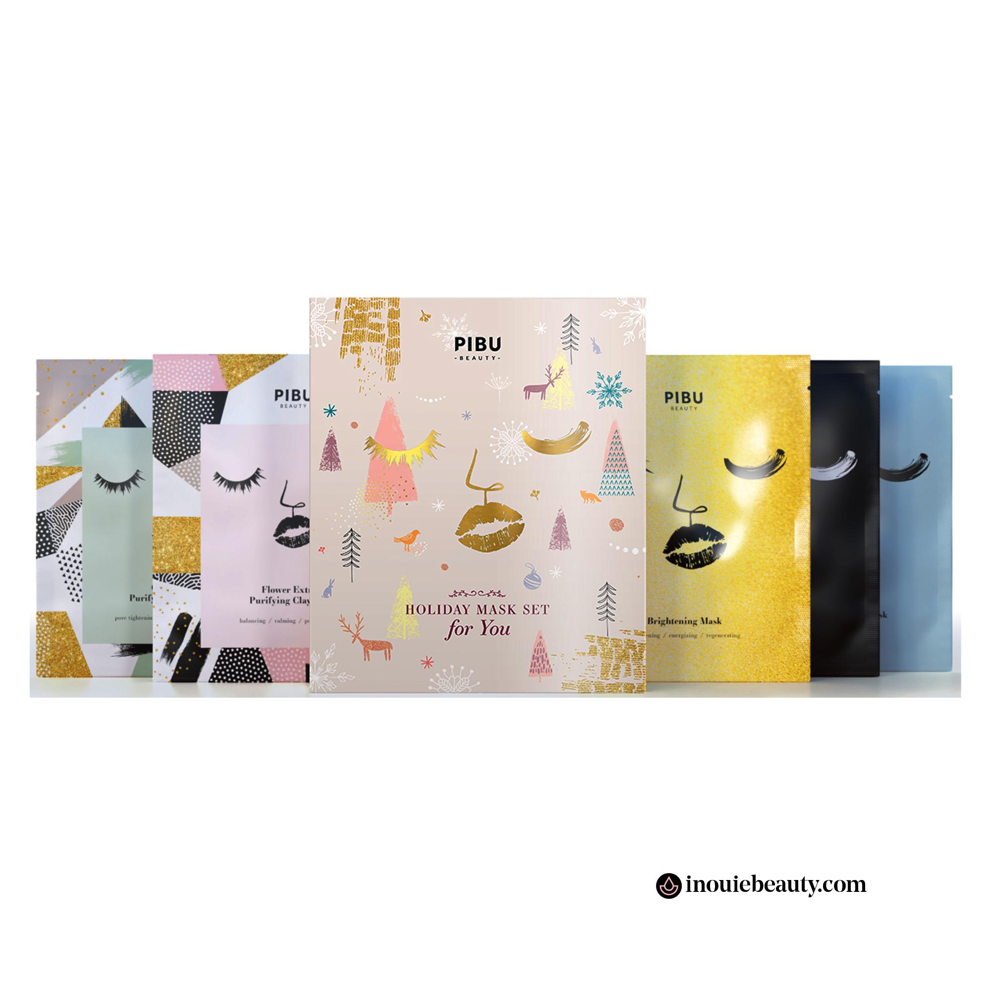 Pibu Holiday Mask Set