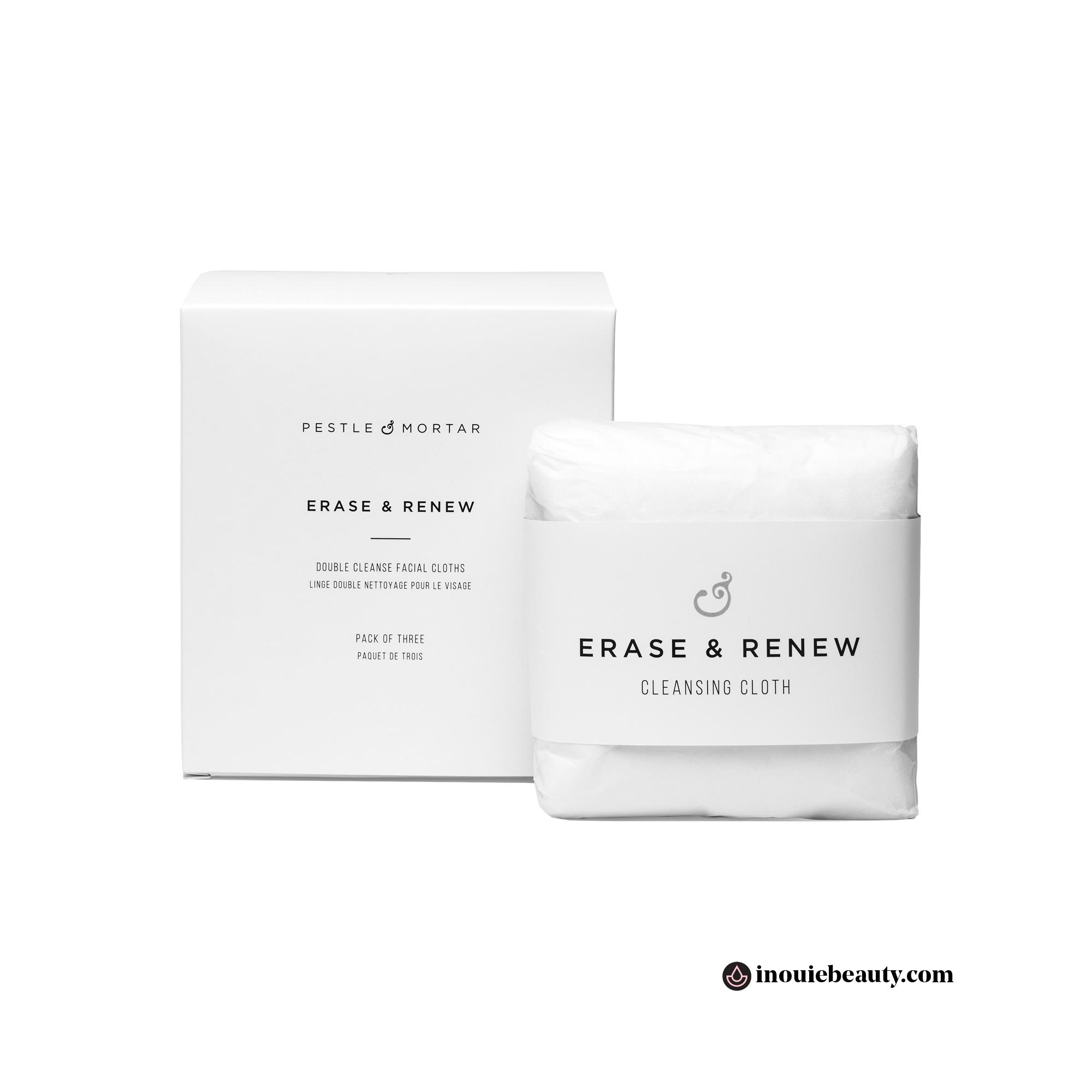 Pestle & Mortar Erase & Renew Cleansing Cloth