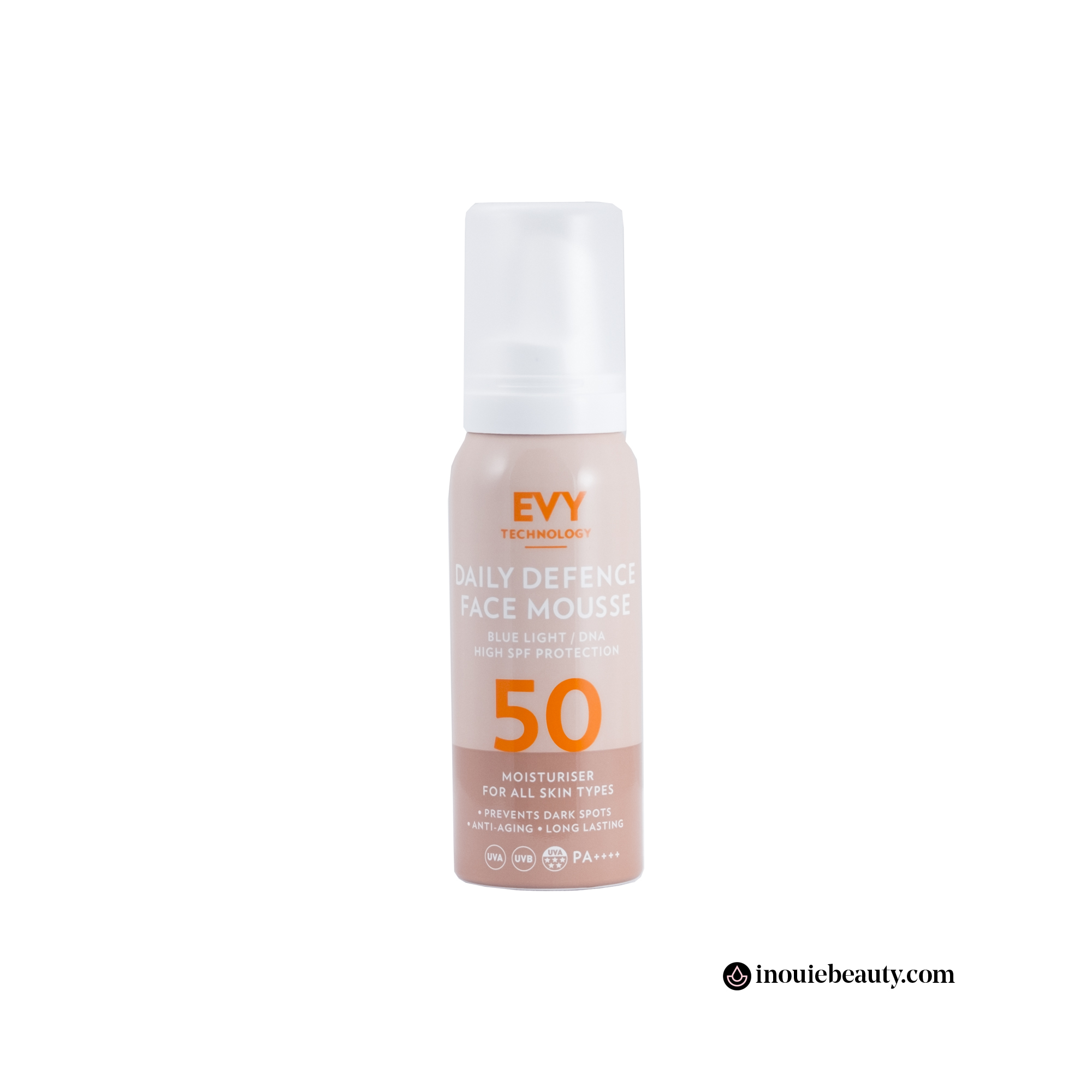 EVY Daily Defense Face Mousse SPF 50 (com envio a partir do dia 16 de Abril*)