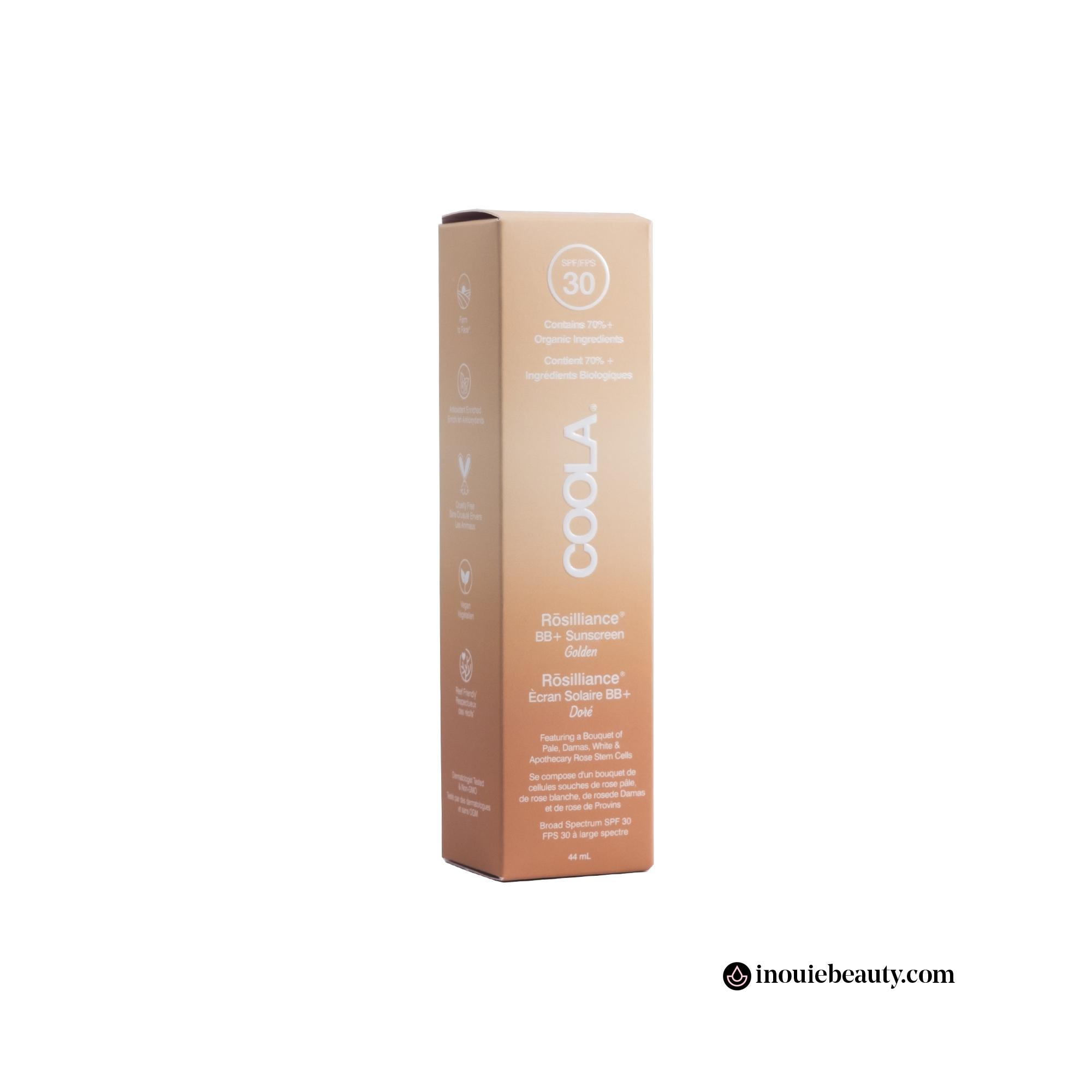 Coola Mineral Face SPF 30 Rosilliance BB+ Cream - Golden