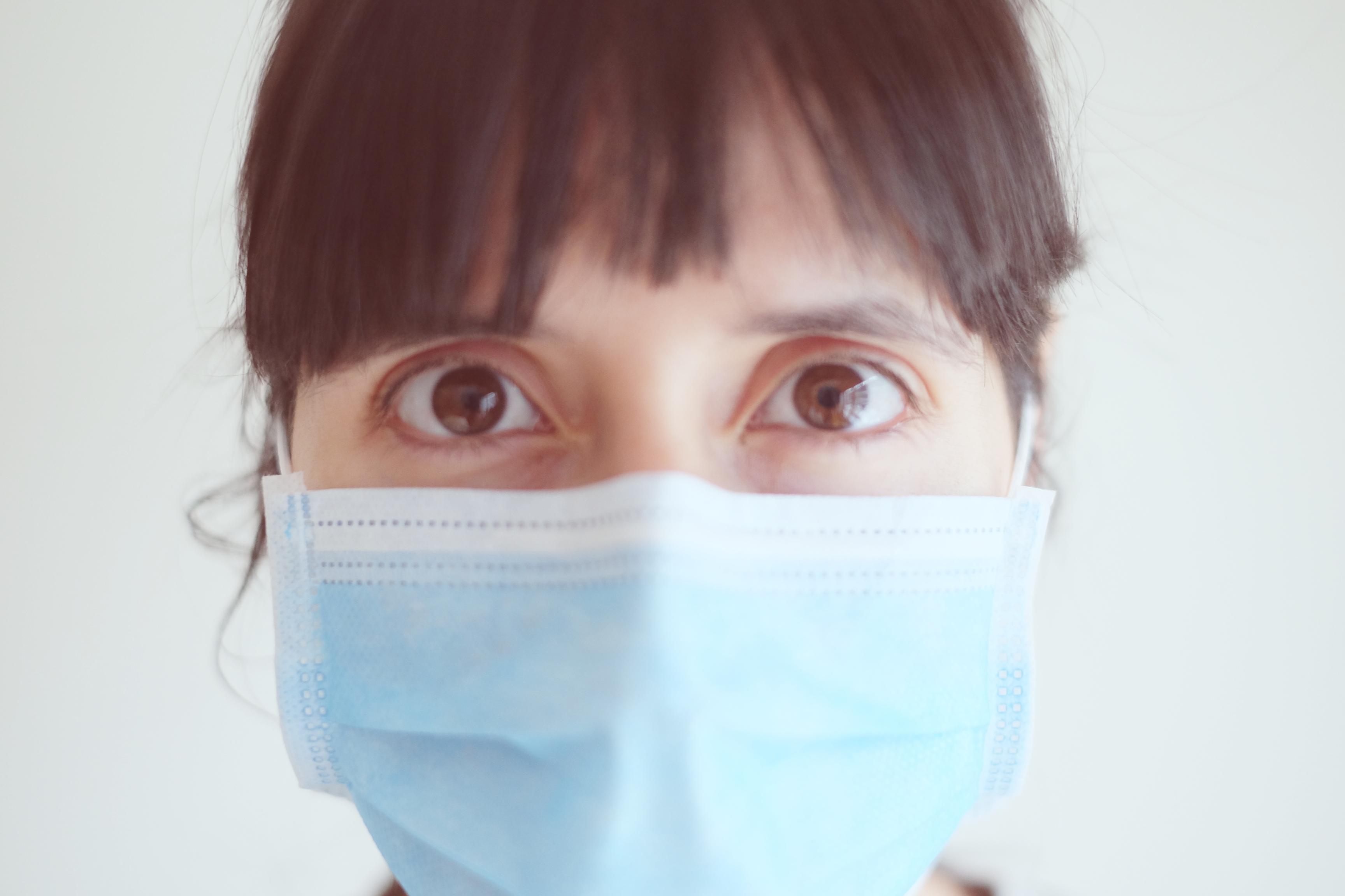 Maskne – A acne causada pelo o uso de máscara de proteção.