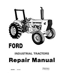 Manual De Taller Ford 230A, Ingles