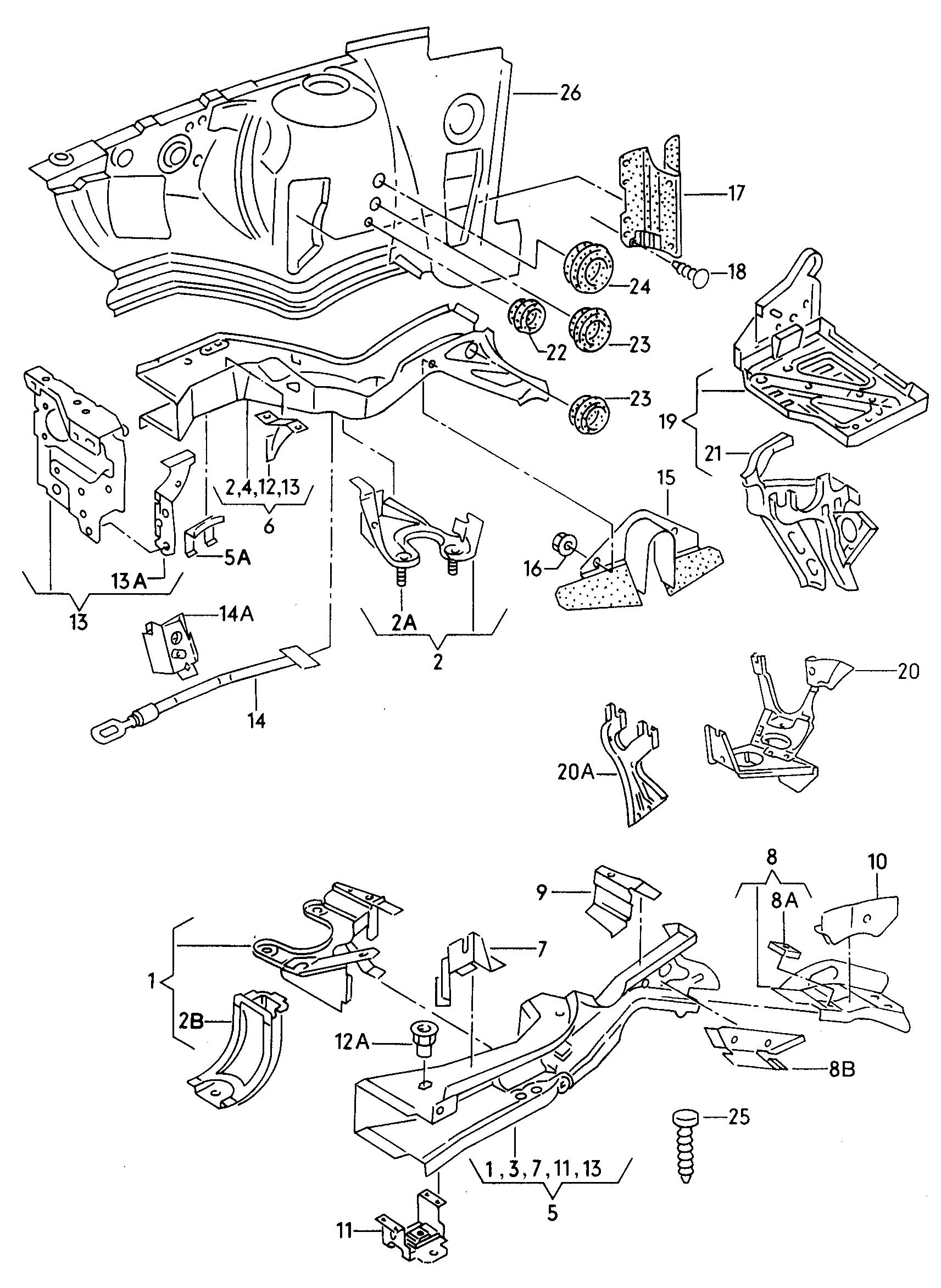 Manual De Despiece Audi S2 (1991-1995) Español