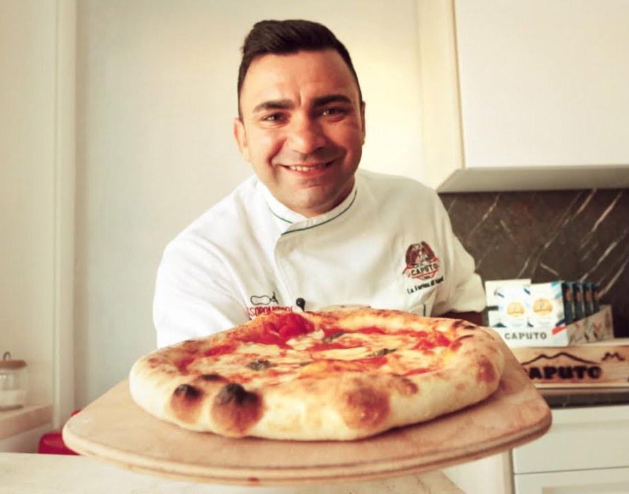 Pizza napolitana hecha en casa: Receta de Davide Civitiello