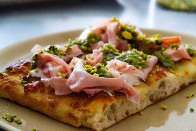 Pizza in teglia (en bandeja) con Davide Civitiello