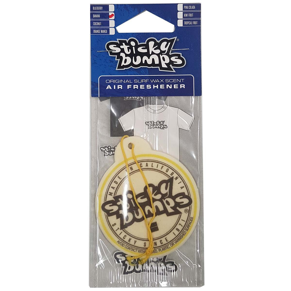 AIR FRESHENER STICKY BUMPS