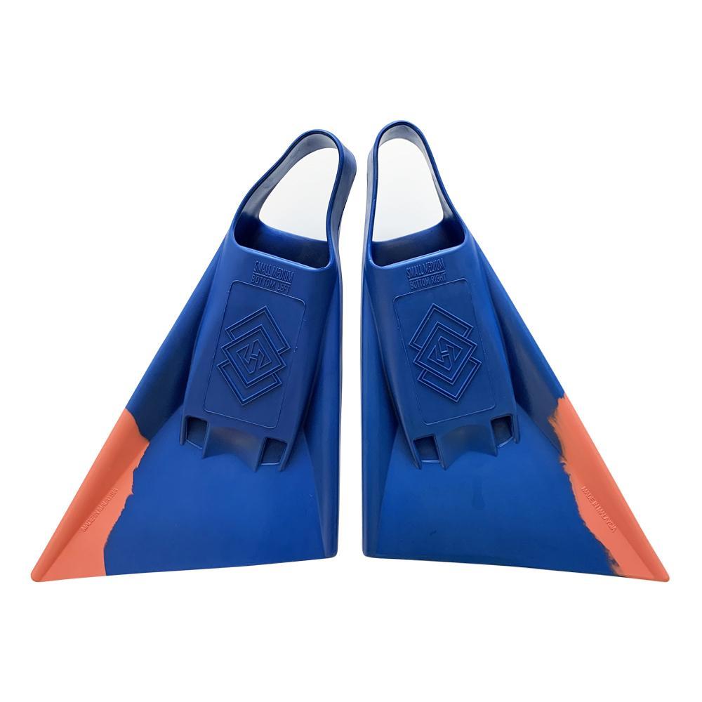 Aletas Air Hubb Punta Recta Blue – Orange
