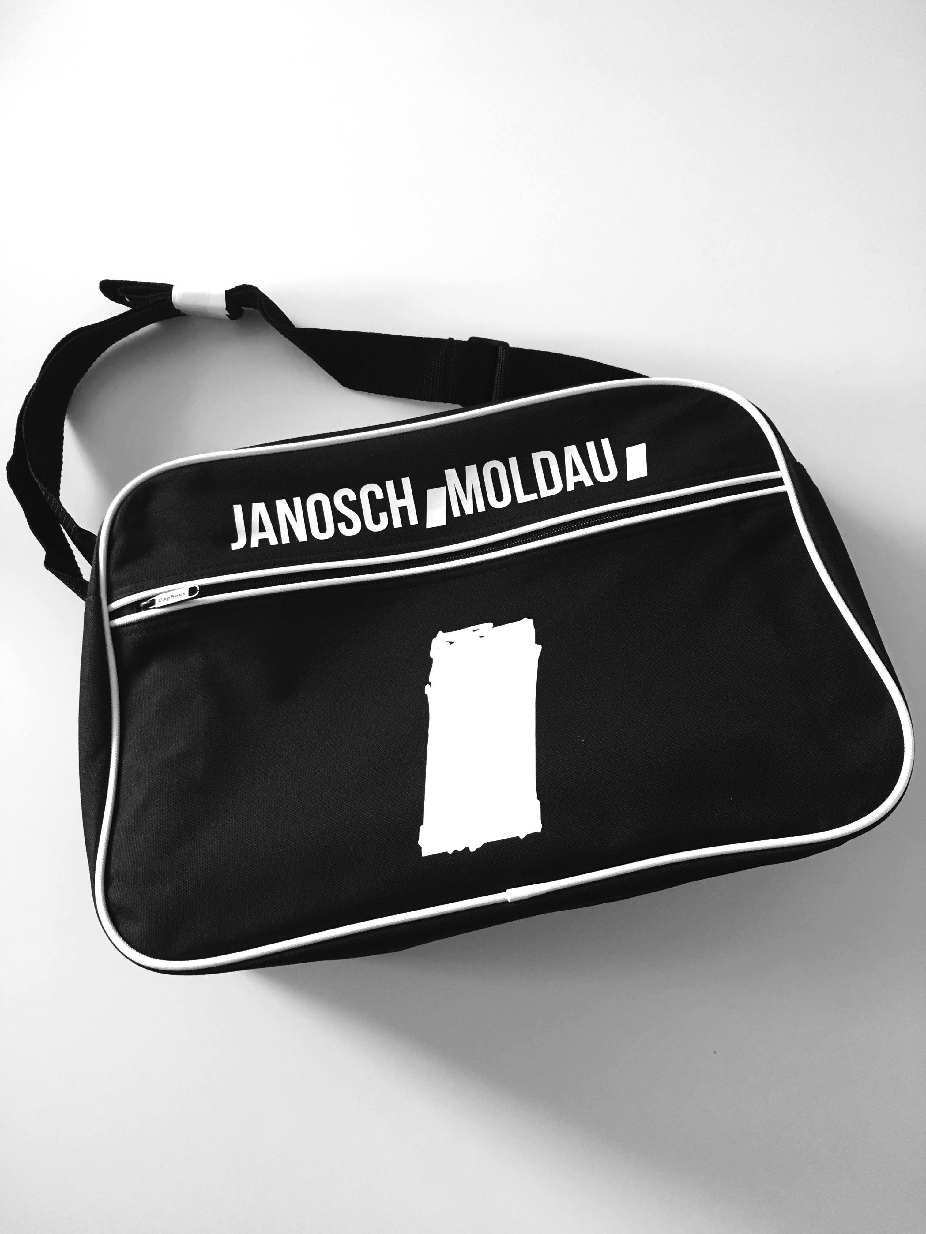 jm retro bag black