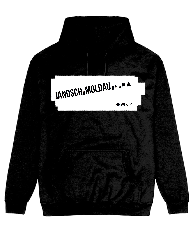 jm stripe black hoody#2