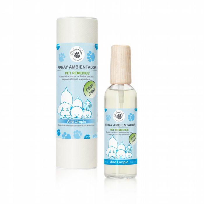 Spray Ambientador Pet Remedies Aire Limpio 100 ml