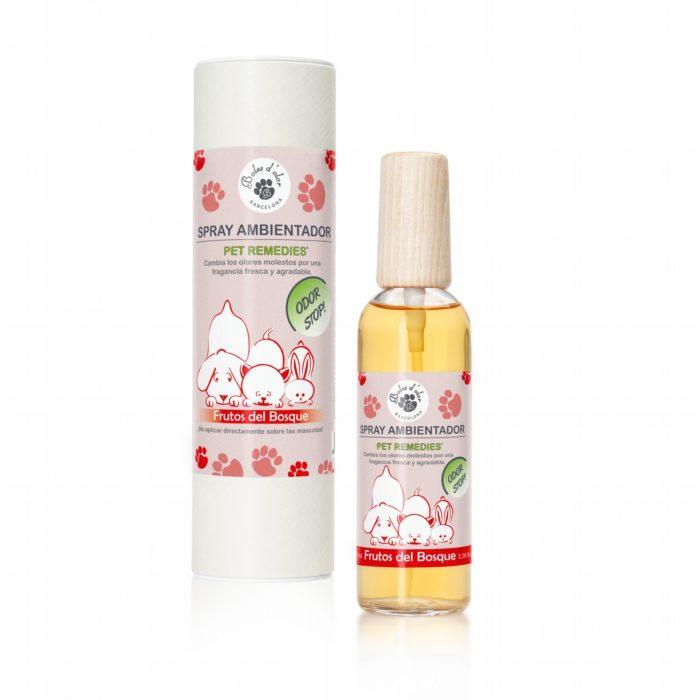 Spray Ambientador Pet Remedies Frutos del Bosque 100 ml