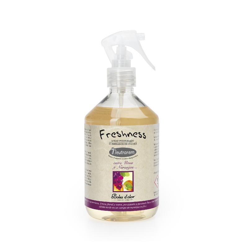 Spray Eliminador Olores Freshness Entre Uvas y Naranjos 500 ml