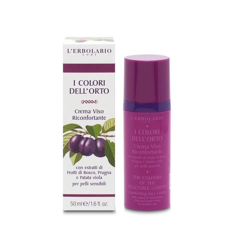 Crema Facial Reconfortante Colores del Huerto 50 ml