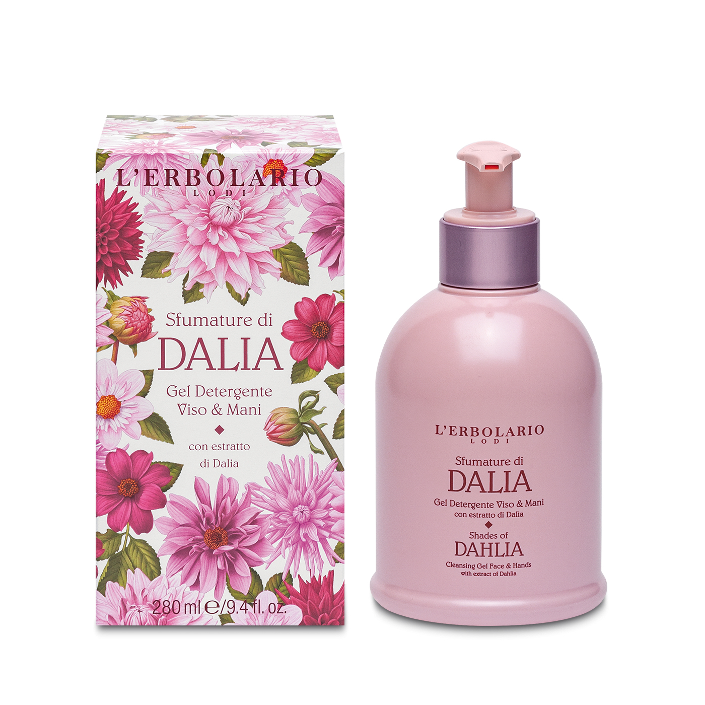 Gel Limpieza Cara y Manos Shades of Dahlia 280 ml