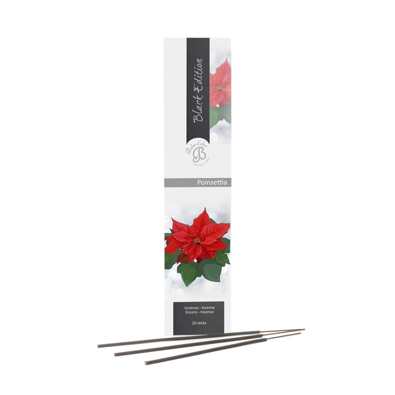 Pack Inciensos Black Ed Poinsettia 20 u