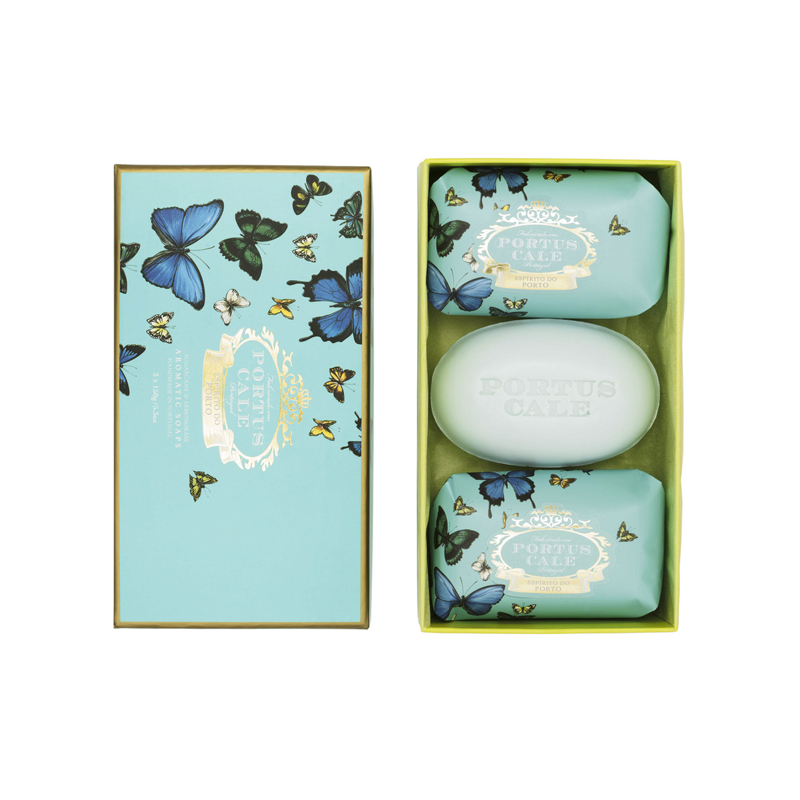 Caja 3 Jabones 150 g Butterflies