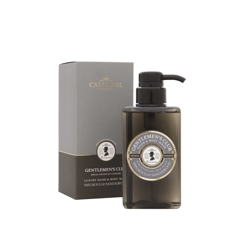 Jabón Líquido Gentlemen's Patchouli & Sandalwood 450 ml