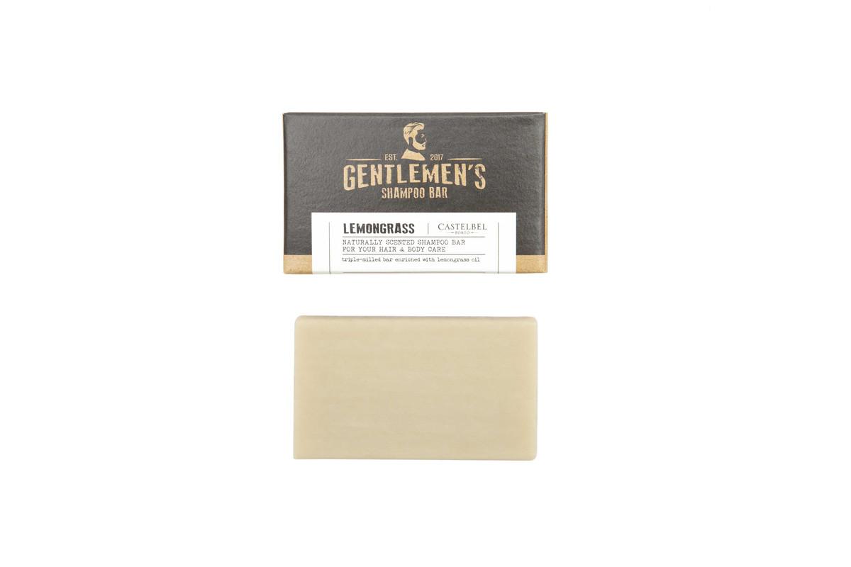 Mini Shampoo en Barra Gentlemen's Lemongrass 35 g