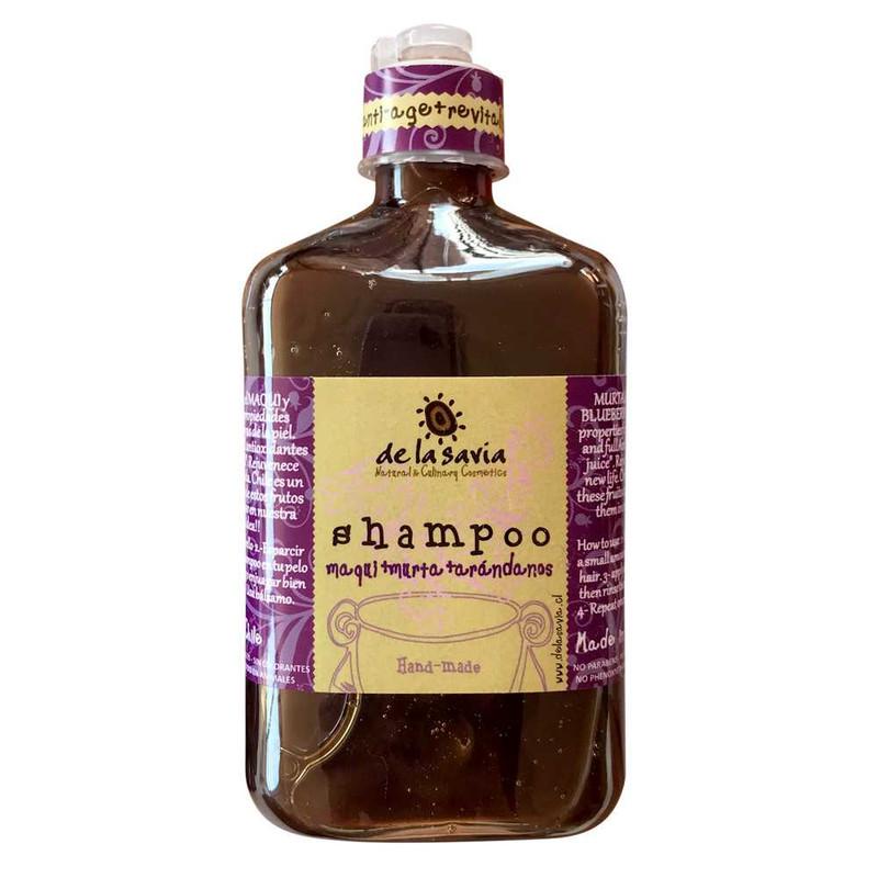 Shampoo Maqui Murta Arándanos 250 ml