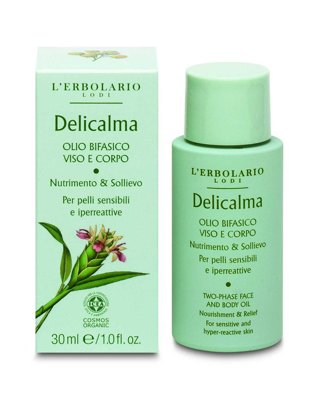 Aceite Bifásico Cuerpo y Cara Delicalma 30 ml