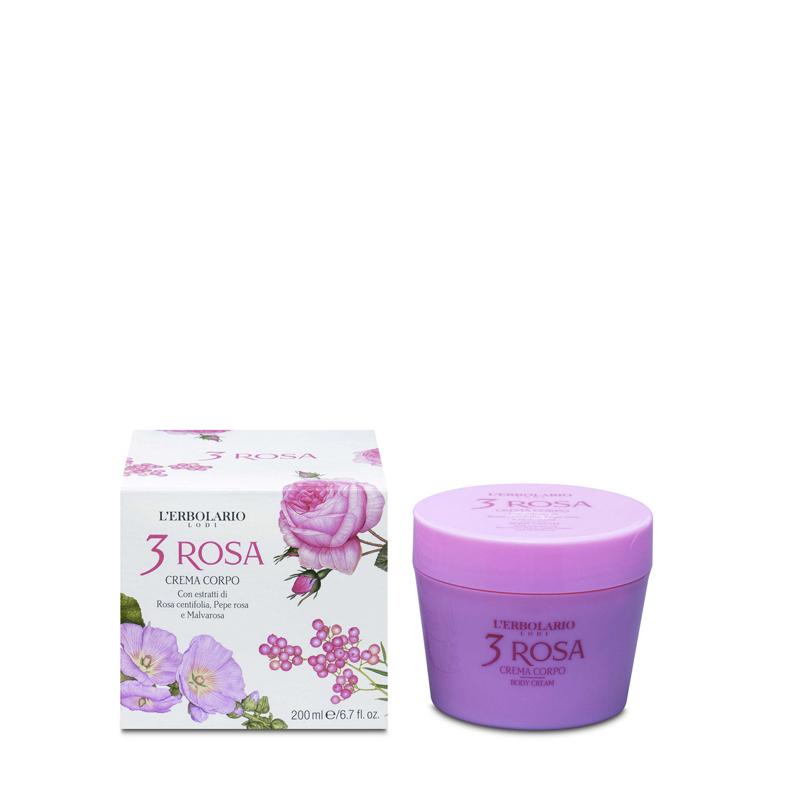 Crema Cuerpo 3 Rosa 200 ml