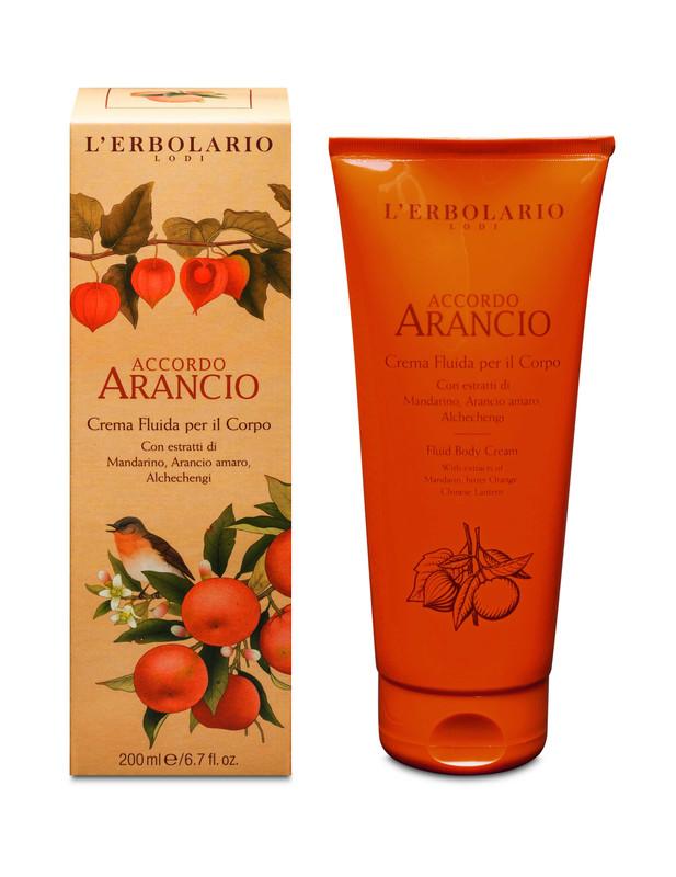 Crema Fluida Cuerpo Arancio 200 ml