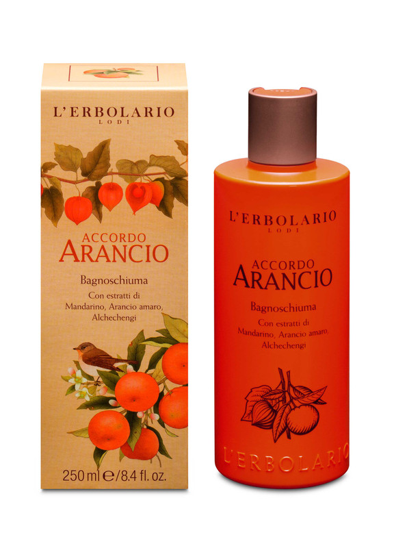 Gel Ducha y Baño Arancio 250 ml
