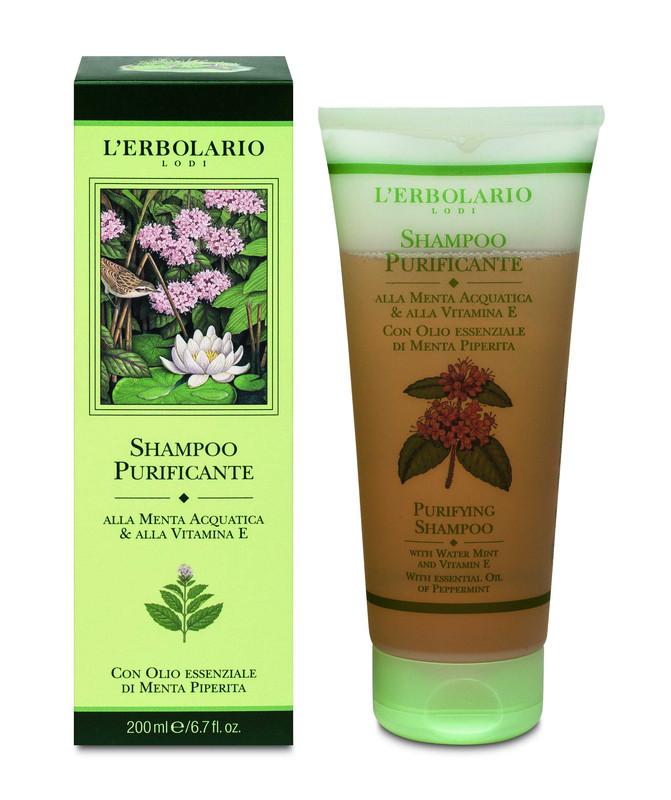 Shampoo Purifcante a la Menta y Vit E 200 ml
