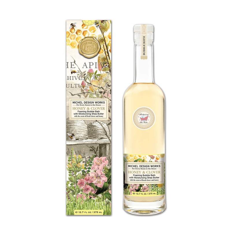 Espuma Baño Honey & Clover 375 ml