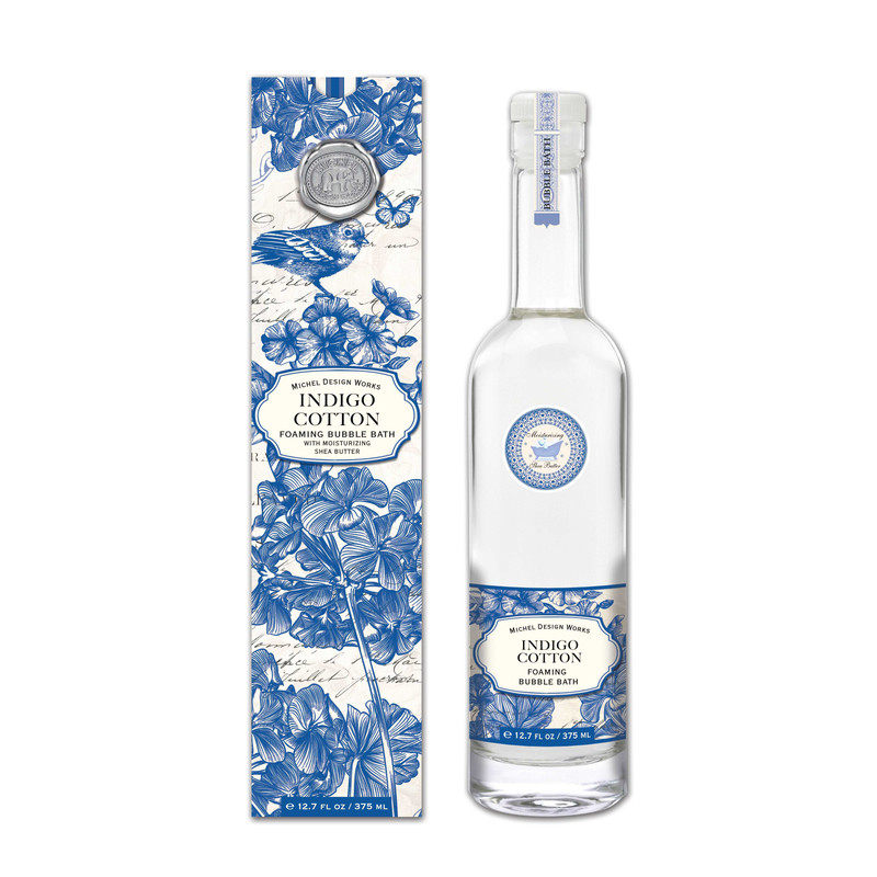 Espuma Baño Indigo Cotton 375 ml