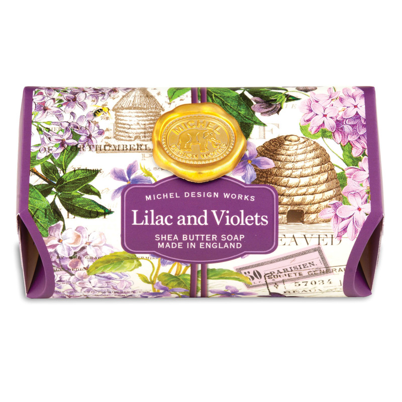 Jabón Barra Lilac and Violets 246 g