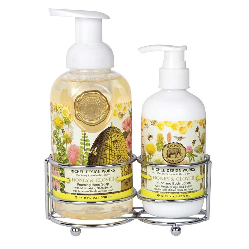 Set Jabón Líquido/Loción Corporal Honey & Clover