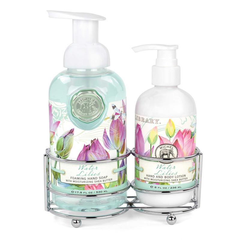 Set Jabón Líquido/Loción Corporal Water Lilies