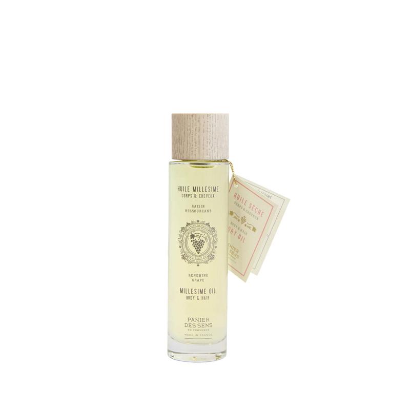Aceite Seco Cara, Cuerpo y Pelo Uvas 100 ml