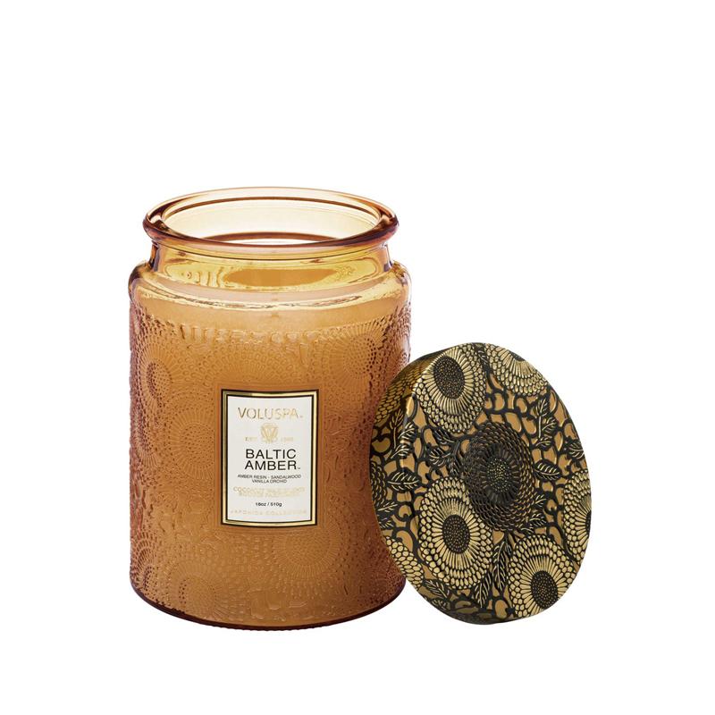 Vela Vidrio Baltic Amber 510 g