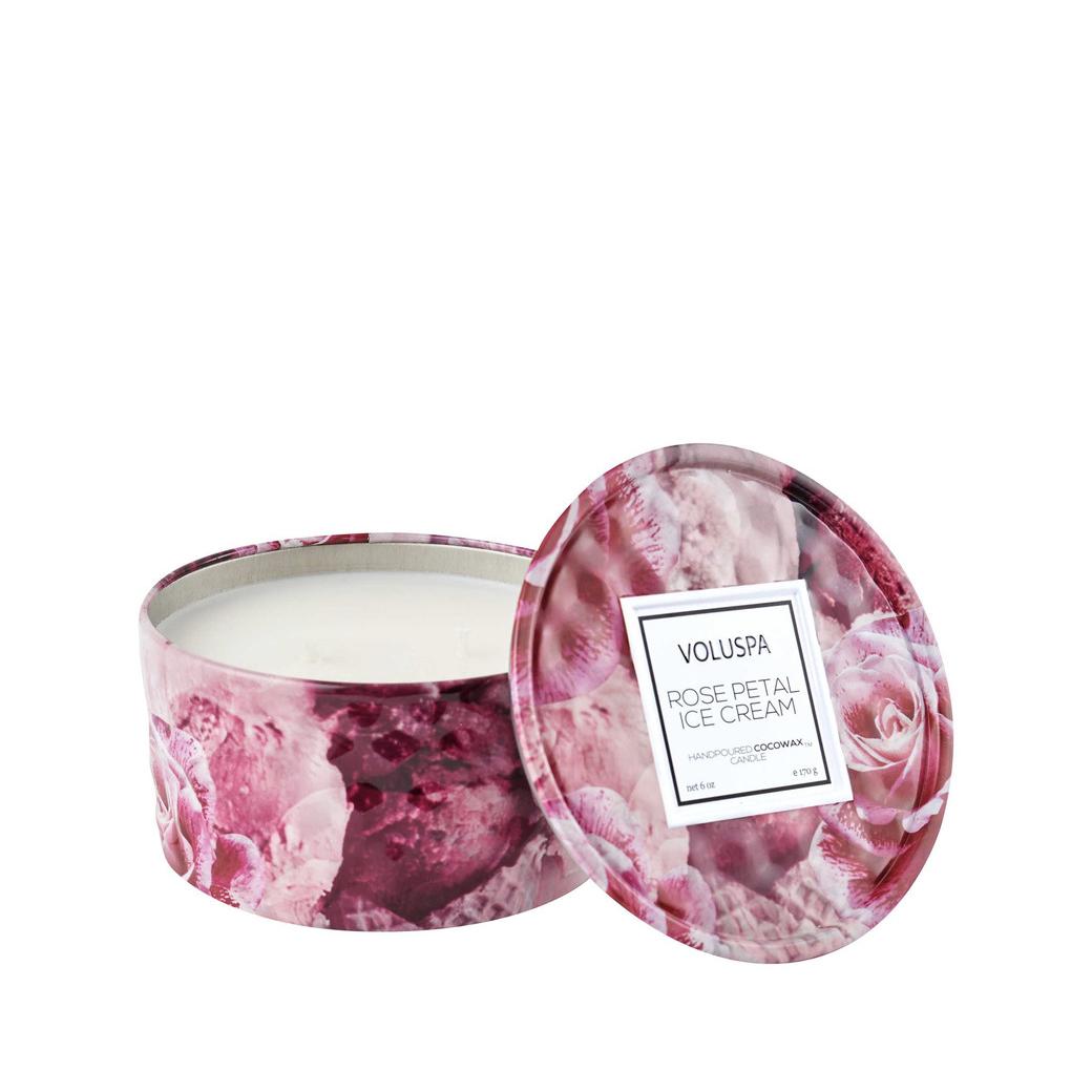 Vela Metal Rose Petal Ice Cream 170 g