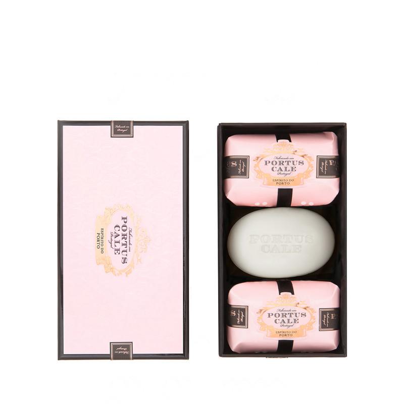 Caja 3 Jabones 150 g Rosé Blush