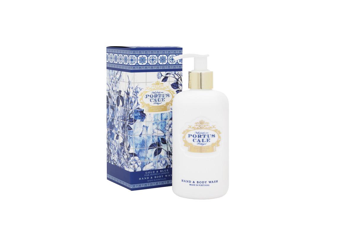 Jabón Líquido Gold & Blue 300 ml