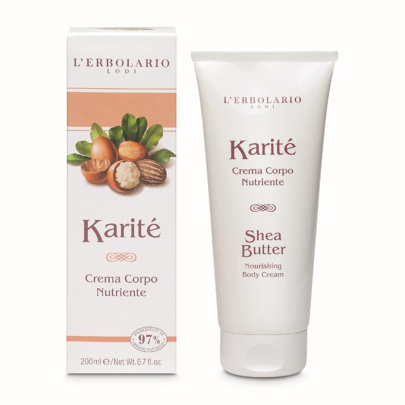 Crema Cuerpo Nutritiva Karité 200 ml
