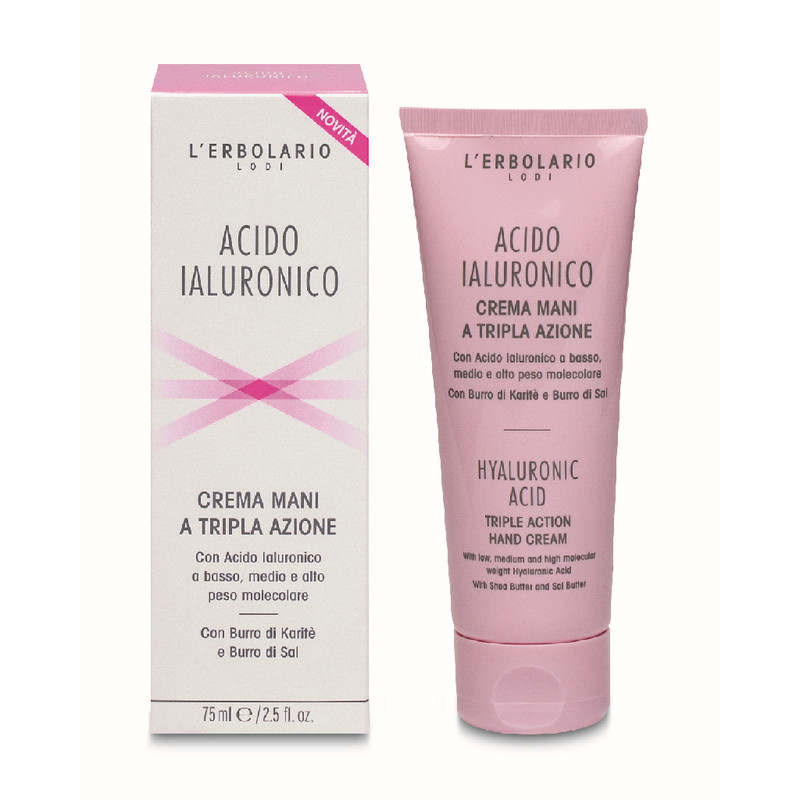 Crema Manos Acido Hialurónico 75 ml