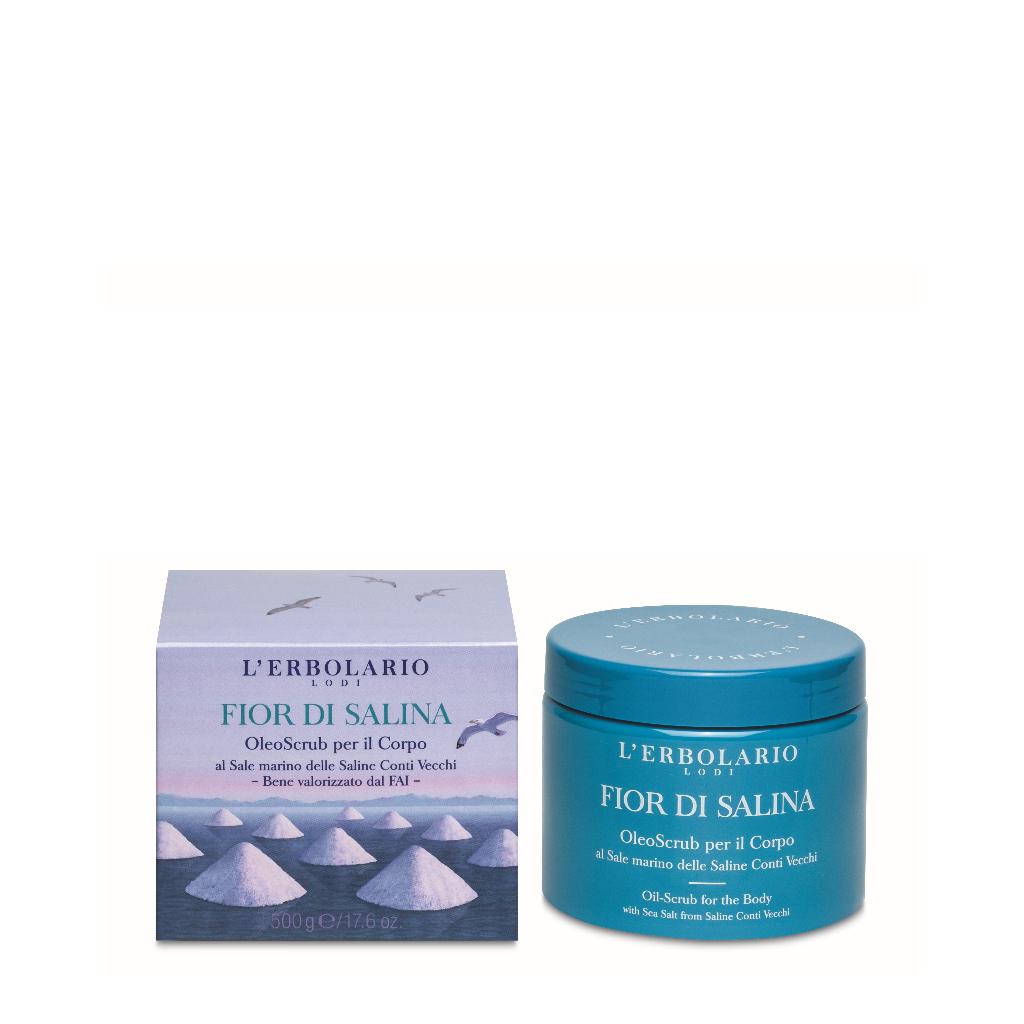 Aceite Exfoliante Cuerpo Fior di Salina 500 g