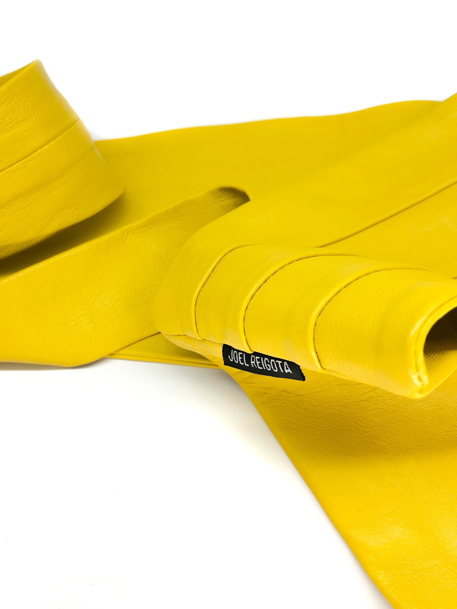 Yellow Wide Waist Belt