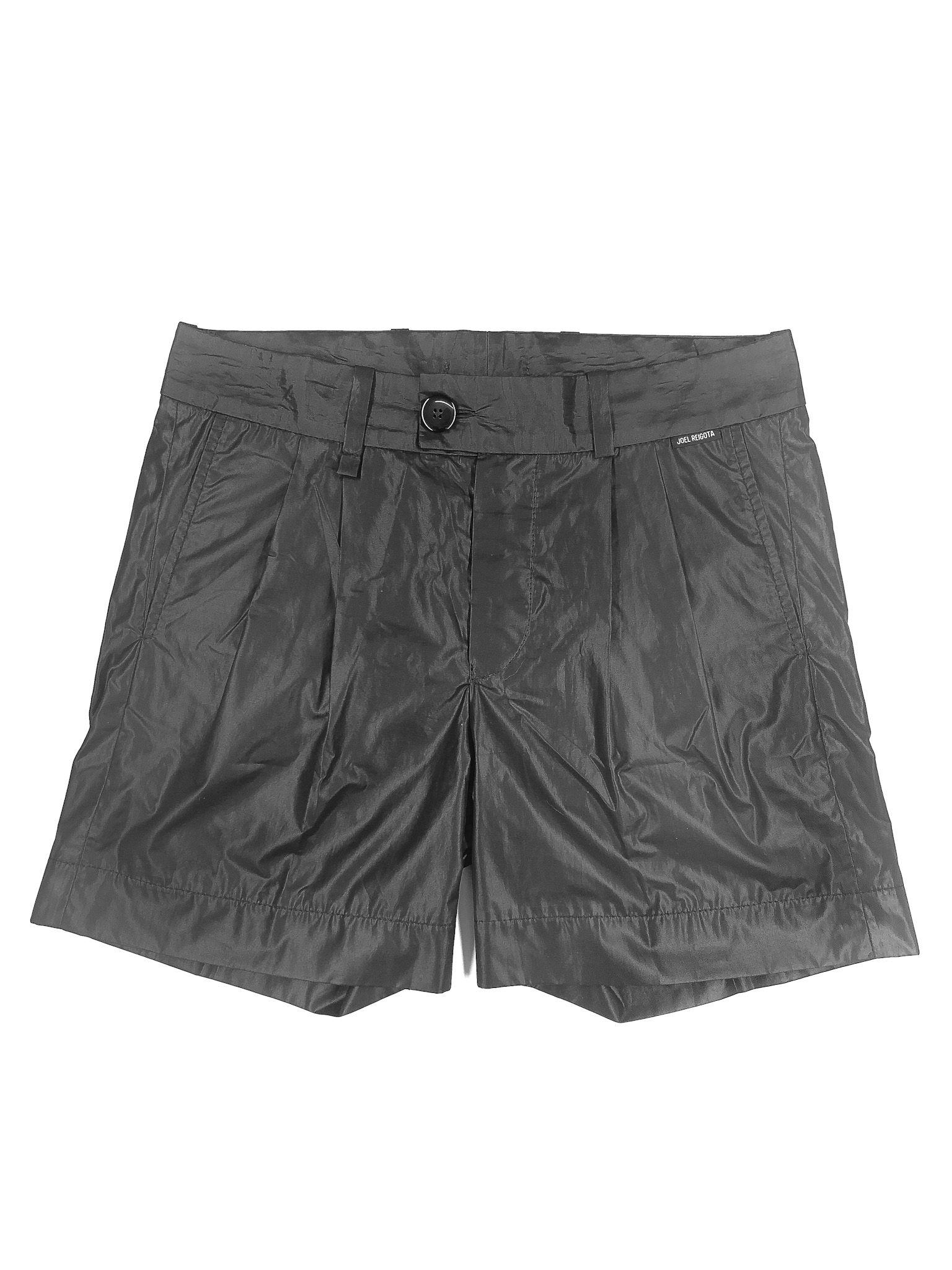 Black Wrinkled Shorts