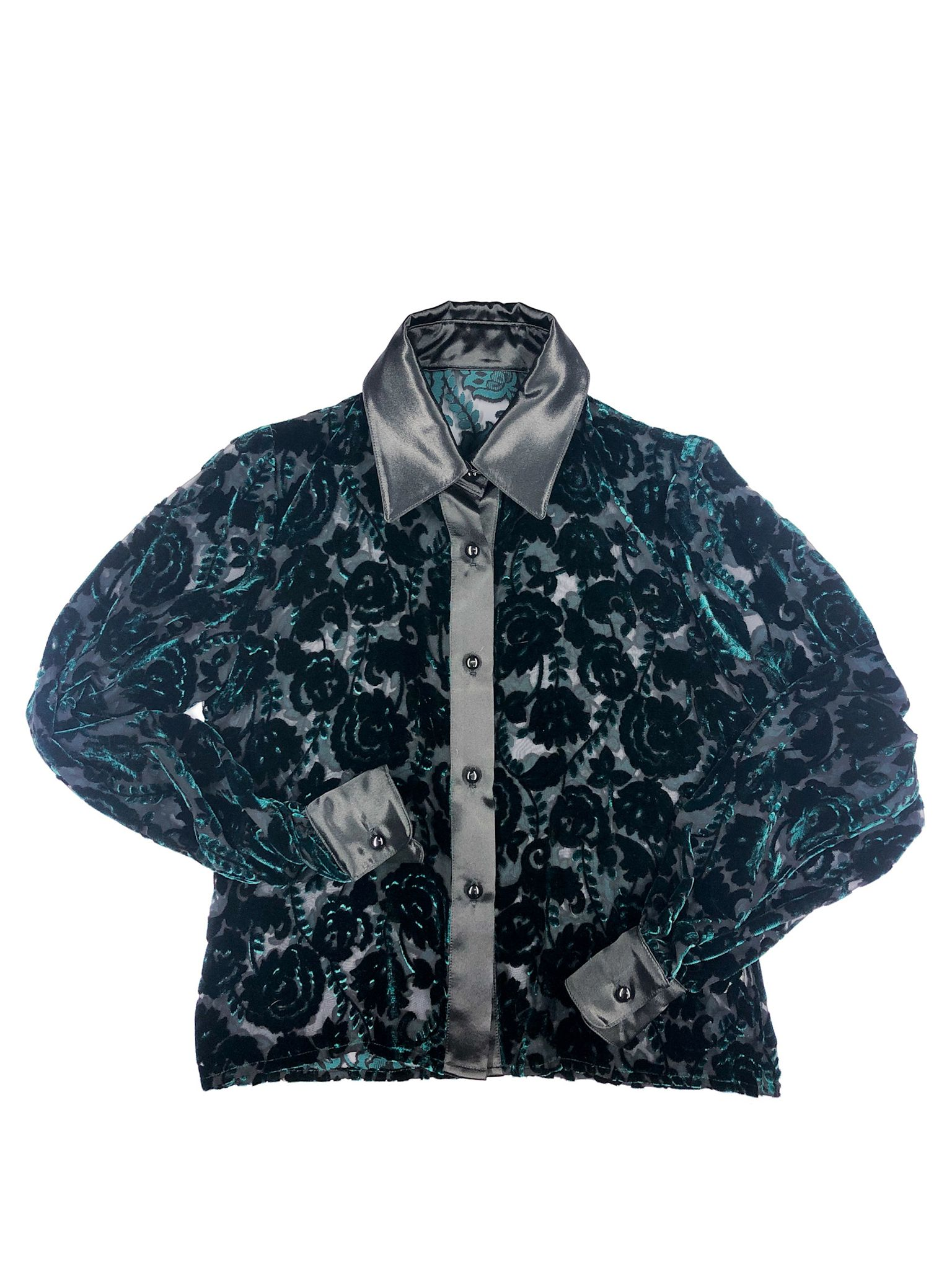 Dévoré Velvet Shirt