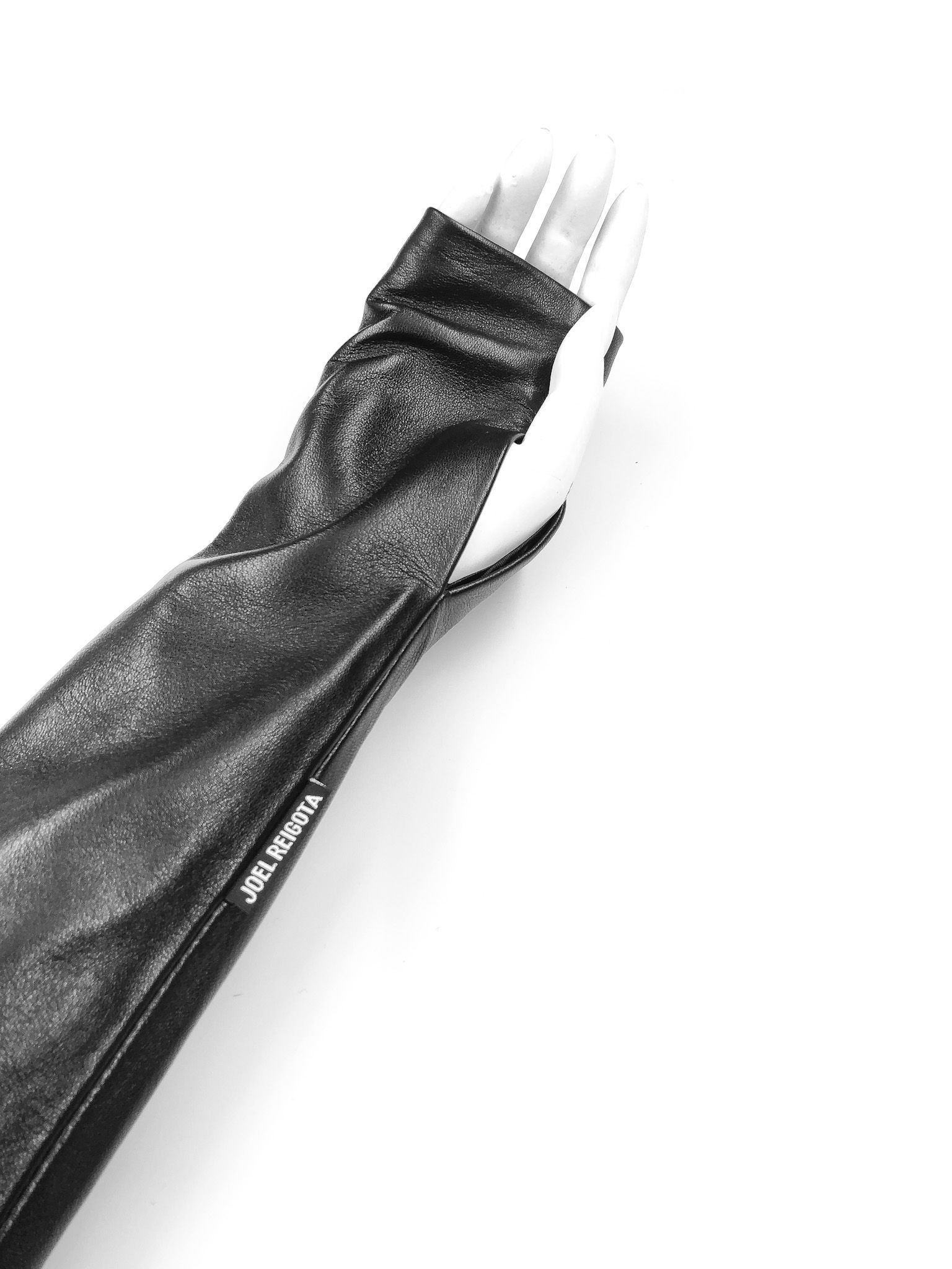 Leather Long Gloves