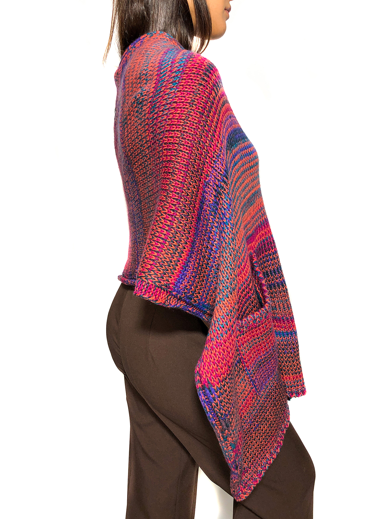 Multicolored Wool Stole